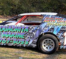 Race car wraps
